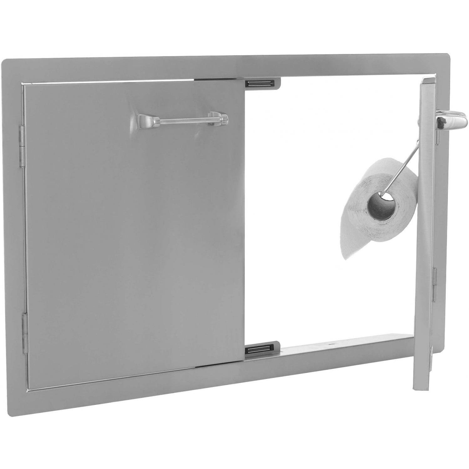 Lion Double Door W Towel Rack