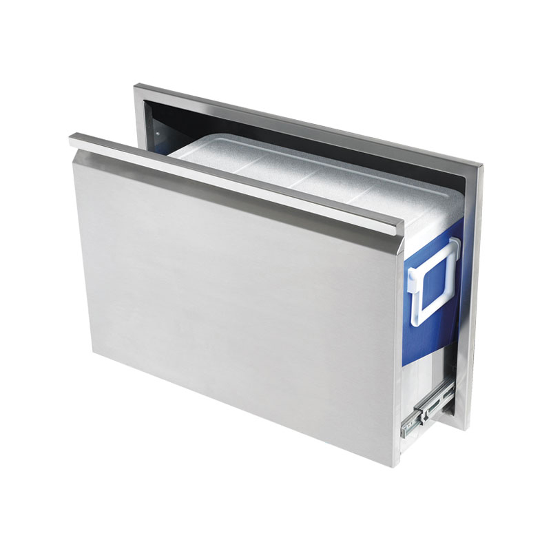 Twin eagles 30 cooler drawer for Drop in cooler for outdoor kitchen